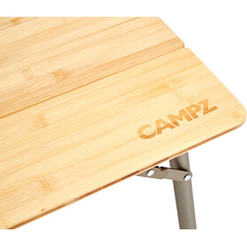 CAMPZ Bamboo Table 60x60x40cm, brown